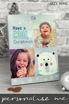 Personalised Christmas Advent Calendar by Izzy Rose