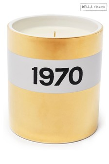 Bella Freud 1970 Ceramic Candle - Gold