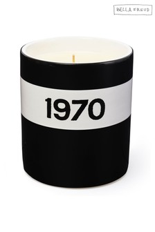 Bella Freud 1970 Ceramic Candle - Black