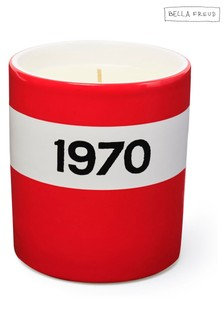Bella Freud 1970 Ceramic Candle - Red