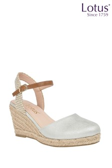 Lotus Footwear Espadrille Wedge Heeled Sandal