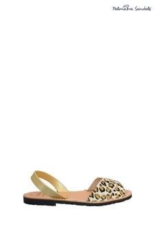 Palmaira Sandals Nubuck Crossover Peeptoe Sandal
