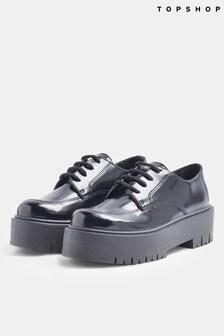 Topshop Linden Lace Up Shoes