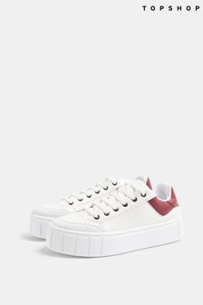 Topshop Chelsea Lace Up Trainer