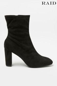 Raid Sock Heel Ankle Boot