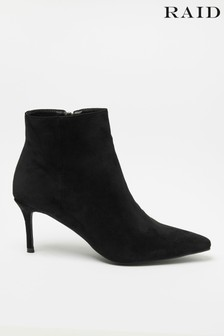 Raid Suedette Pointed Toe Boot
