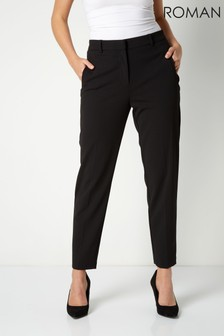 Roman Originals Straight Leg Tapered Trouser
