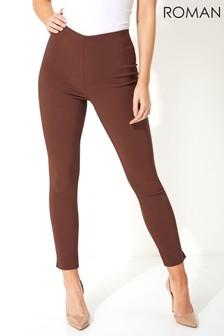Roman Originals Full Length Stretch Trousers