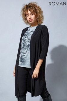 Roman Originals Longline Jersey Kimono