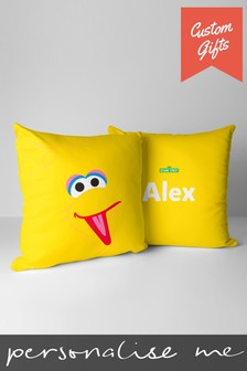 Personalised Sesame Street Cushion By Custom Gifts