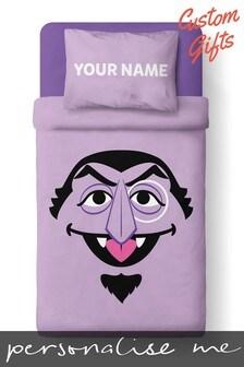 Personalised Sesame Street Single Duvet Set by Custom Gifts
