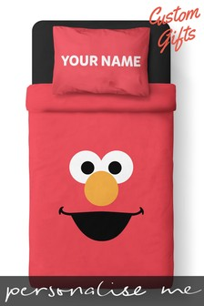 Personalised Sesame Street Single Duvet Set by Custom Gifts