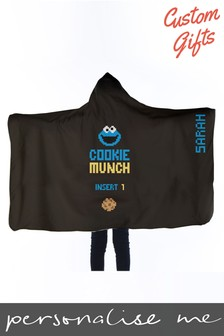 Personalised Sesame Street Wearable Blanket by Custom Gifts