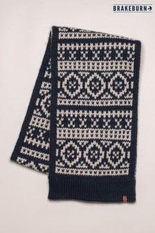 Brakeburn Chunky Fairilse Knit Scarf