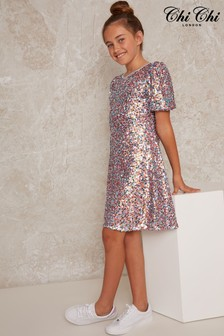 Chi Chi London Madely Sparkle Dress