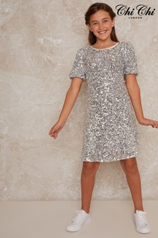 Chi Chi London Lila Sequin Dress