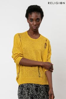 Religion Knitted Jumper