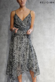 Religion Contour Wrap Dress