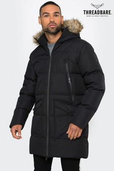 Threadbare Longline Quilted Jacket
