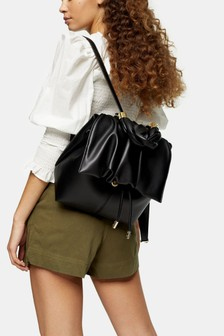Topshop Ruched Backpack