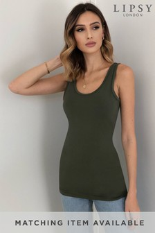 Lipsy Long Line Vest Top