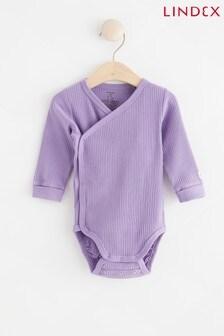 Lindex Baby Wrap-Over Bodysuit