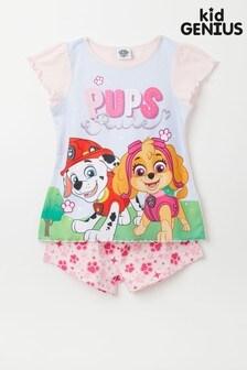Kid Genius Short Sleeved Character Pyjama Short Set