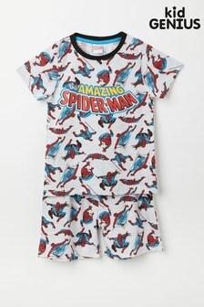 Kid Genius Short Sleeve Spiderman PJ Set