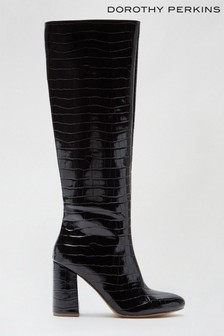 Dorothy Perkins Karma Western Knee High Boot