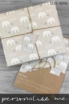 Personalised Gift Wrap & Tags by Izzy Rose