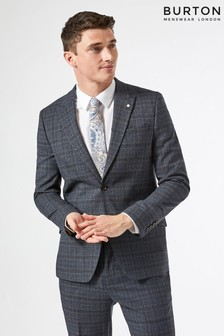Burton Check Suit Jacket