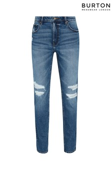 Burton Tapered Mid Wash Organic Jeans