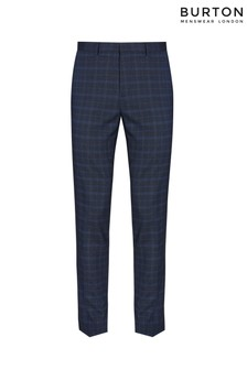 Burton Check Trousers
