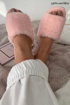 Girls On Film Fluffy Slipper
