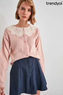 Trendyol Oversized Collar Jumper