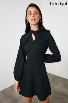 Trendyol Collar Detailed Dress