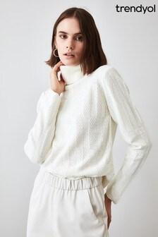 Little Mistress x Trendyol Knit Detailed Knitwear Sweater