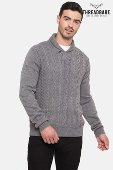 Threadbare Shawlcollar Jumper