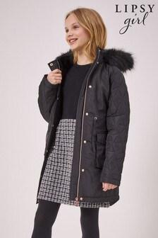Lipsy Shower Resistant Parka Coat