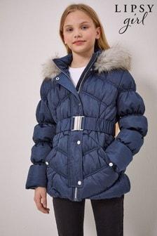 Lipsy Satin Belted Coat