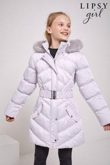 Lipsy Longline Belted Coat