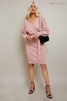 Little Mistress Misa Knitted Mini Dress