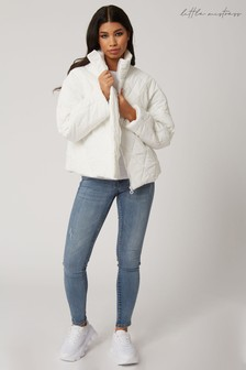 Little Mistress Bounty Quilted Padded Jacket