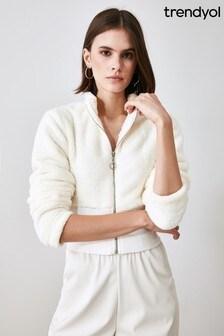 Trendyol Fleece Half Zip Jacket