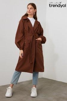 Little Mistress X Trendyol Classic Trench Coat