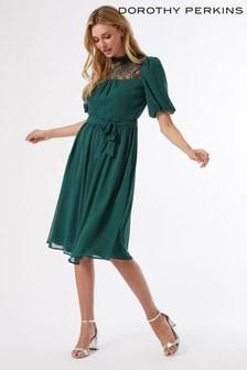 Dorothy Perkins Lace Yoke Dress
