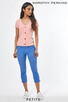 Dorothy Perkins Tall Tall Black Eden Ankle Grazer Jeans Femme