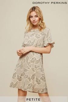 Dorothy Perkins Petite Frill Sleeve Dress