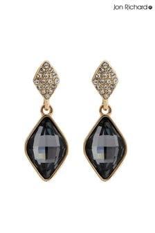 Jon Richard Fancy Drop Earrings Made With Swarovski Crystals