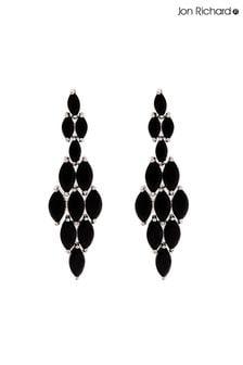 Jon Richard Marquisse Navette Cubic Zirconia Diamond Shape Earrings